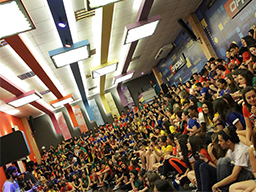 Supercombo se apresentou na arena oficina - Curso Pré Vestibular Campinas e Ensino Médio Campinas OFICINA DO ESTUDANTE