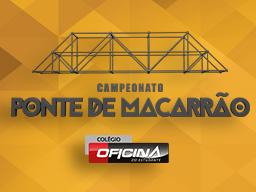 Alunos aprendem exatas com ponte do macarrão  - Curso Pré Vestibular Campinas e Ensino Médio Campinas OFICINA DO ESTUDANTE