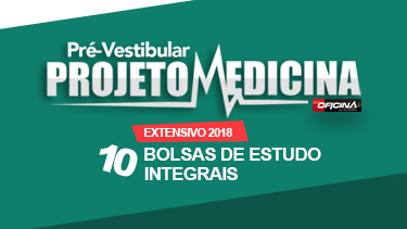 São 10 BOLSAS INTEGRAIS na Turma de Medicina Extensivo 2018 do  Pré-vestibular Oficina do Estudante, de Campinas. 2993d81e99