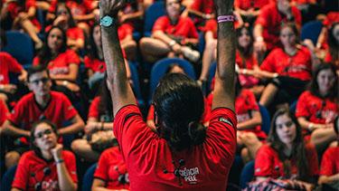 Alunos aprendem e se divertem com o Ciência na Pele  - Pré Vestibular Campinas  - Ensino Médio Campinas - OFICINA DO ESTUDANTE