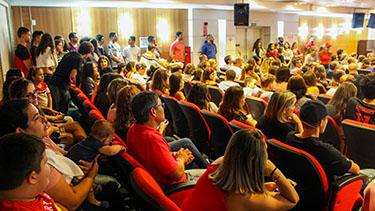 Dê o Click 2019 lota auditório  - Pré Vestibular Campinas  - Ensino Médio Campinas - OFICINA DO ESTUDANTE