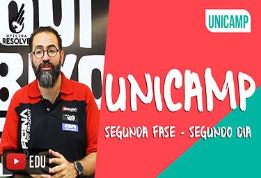 COMENTÁRIO UNICAMP - Cursinho Campinas Oficina do Estudante - PRÉ-VESTIBULAR CAMPINAS - O curso que mais aprova nos vestibulares da Unicamp,Fuvest,Unesp,Ufscar,Unifesp.